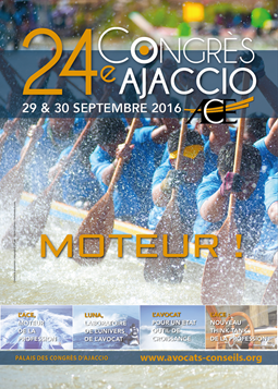 L'été se poursuivra à Ajaccio avec l'AAMTI pour le Congrès de l'ACE, les 29 et 30 septembre prochain