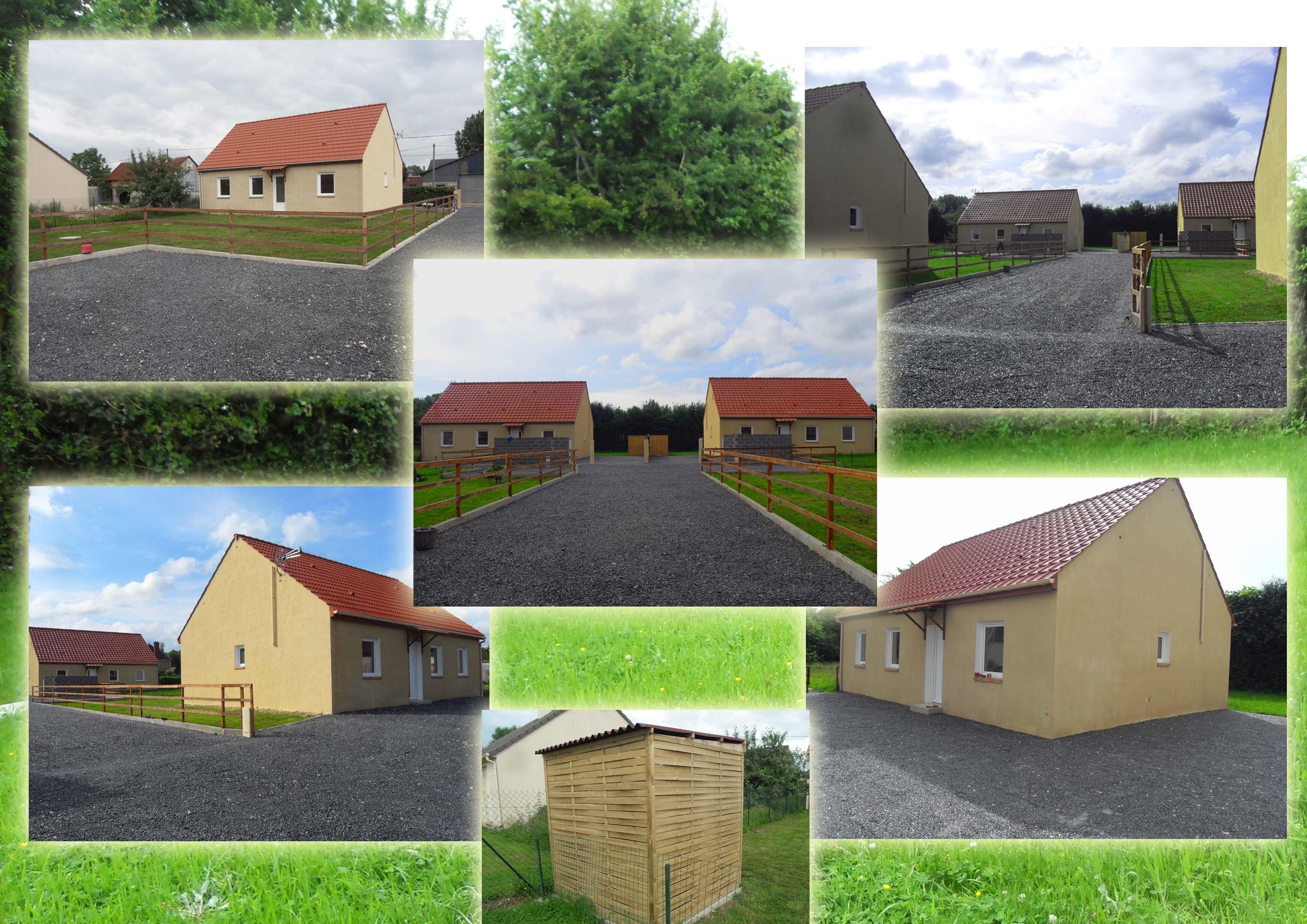 A vendre - 4 maisons - Proche Beauvais (Thieuloy Saint Antoine 60210)