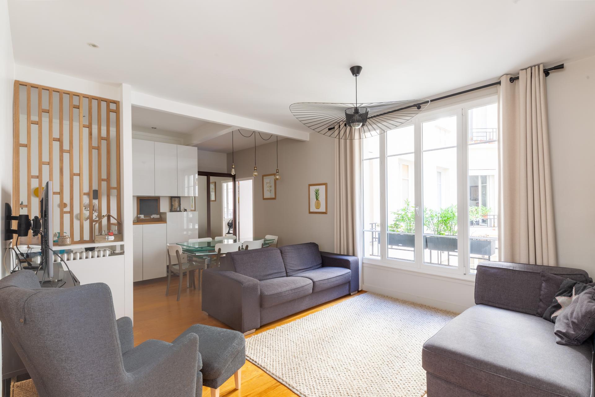 Saint-Mandé, appartement de 5 pièces de 92 m²