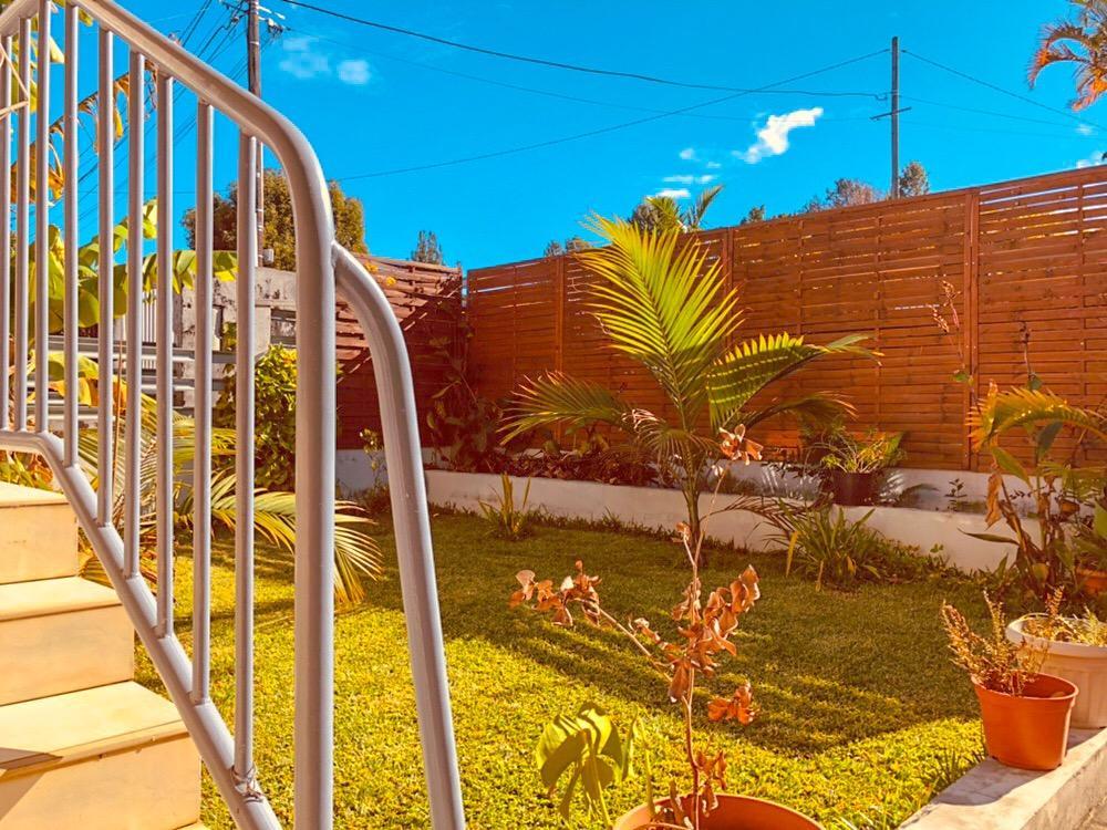 Appartement rez-de-jardin au Tampon 14e km