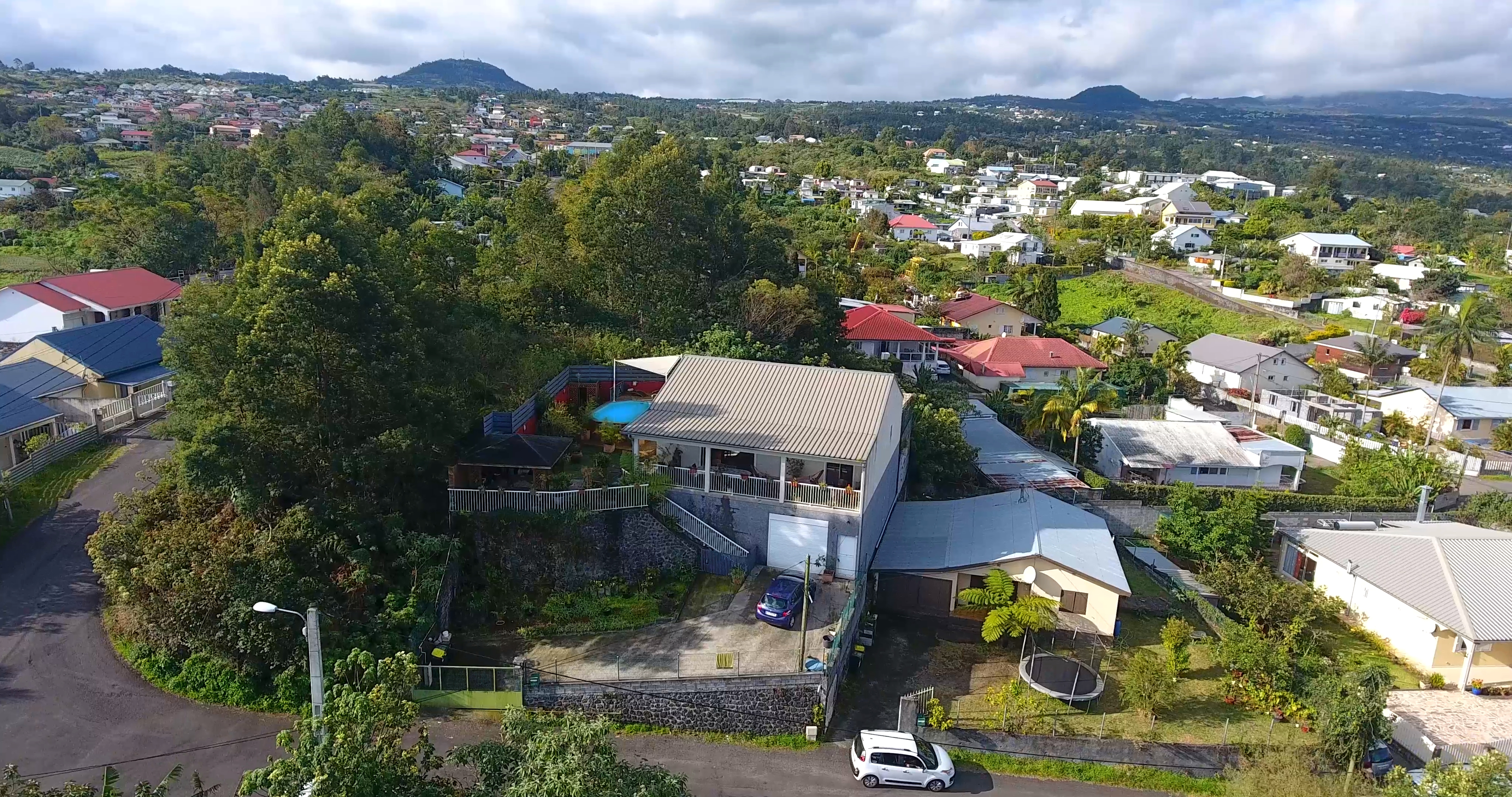 Belle villa au Tampon, SUD de la Réunion