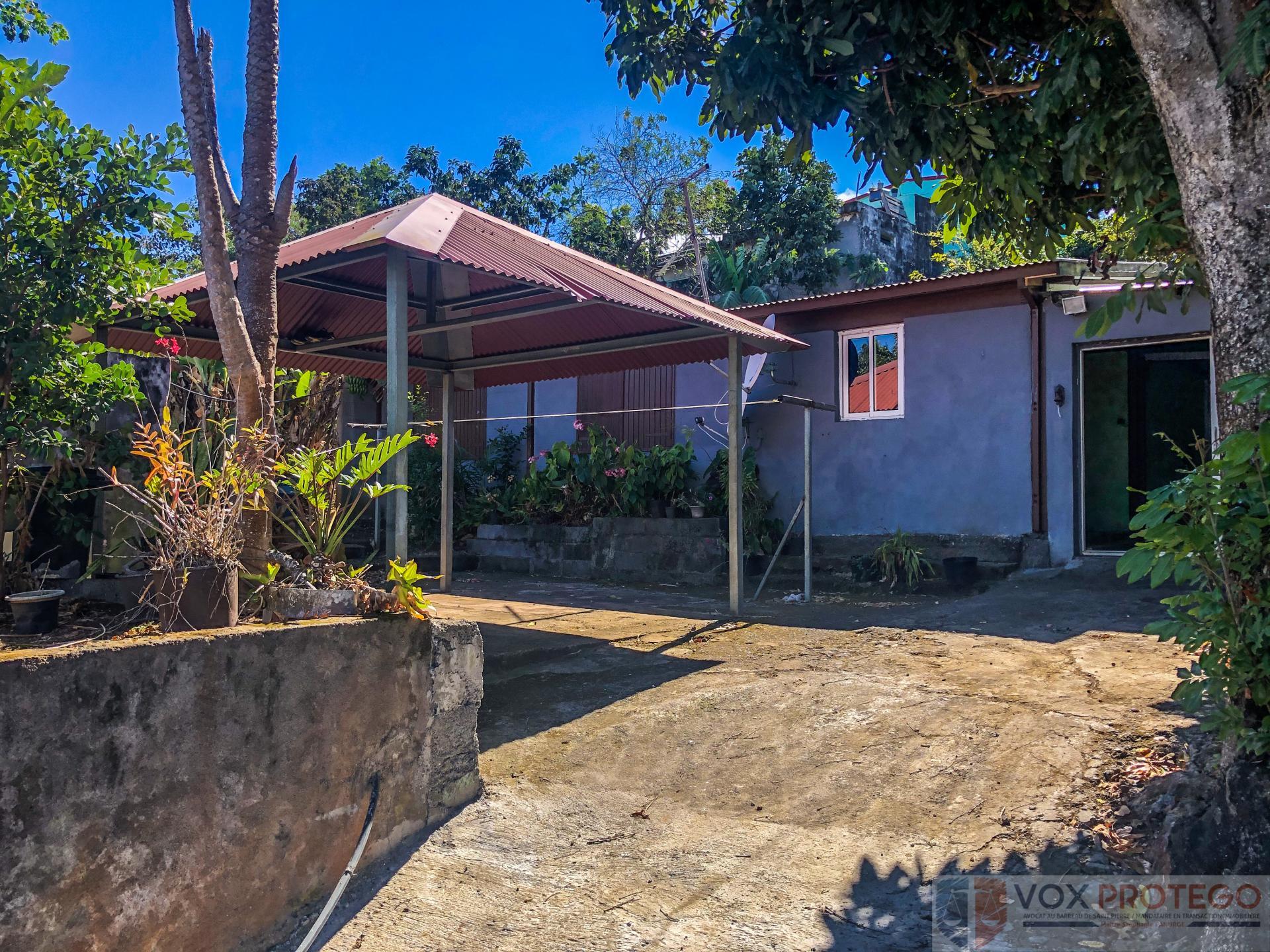 Maison F3 sur terrain 750 m2 - Saline les Hauts