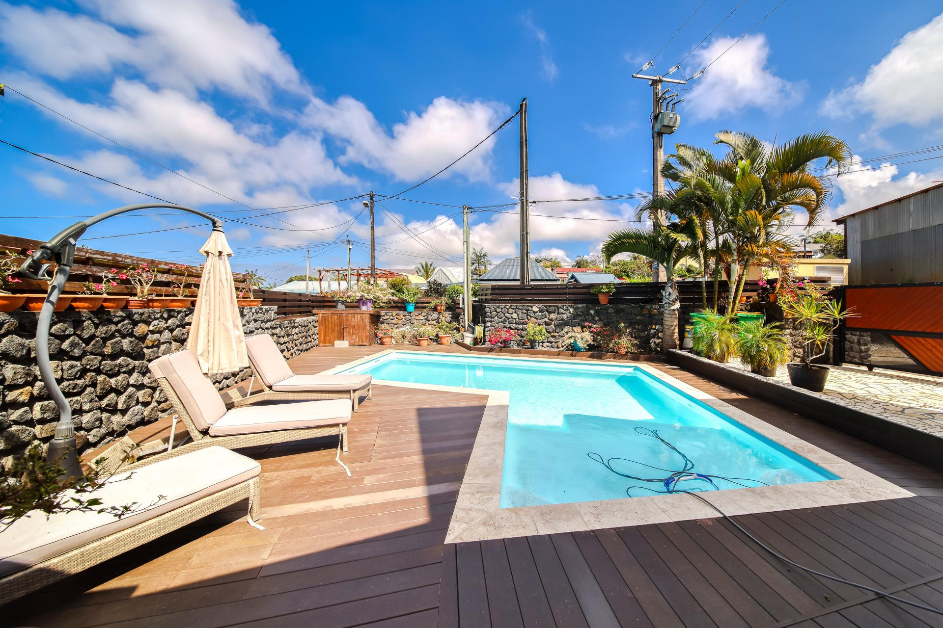 Villa avec Piscine sur PETITE ILE - SUD - Réunion