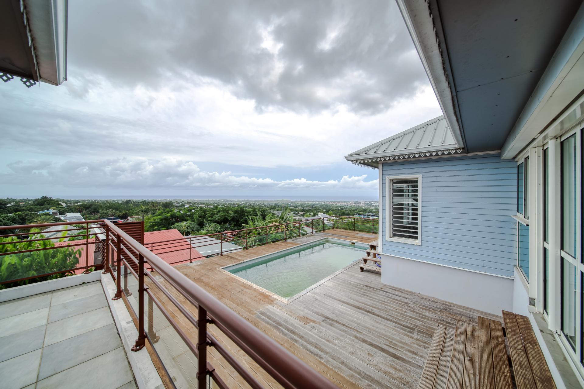 Villa d'exception à la Rivière Saint Louis - vue panoramique - (Réunion)