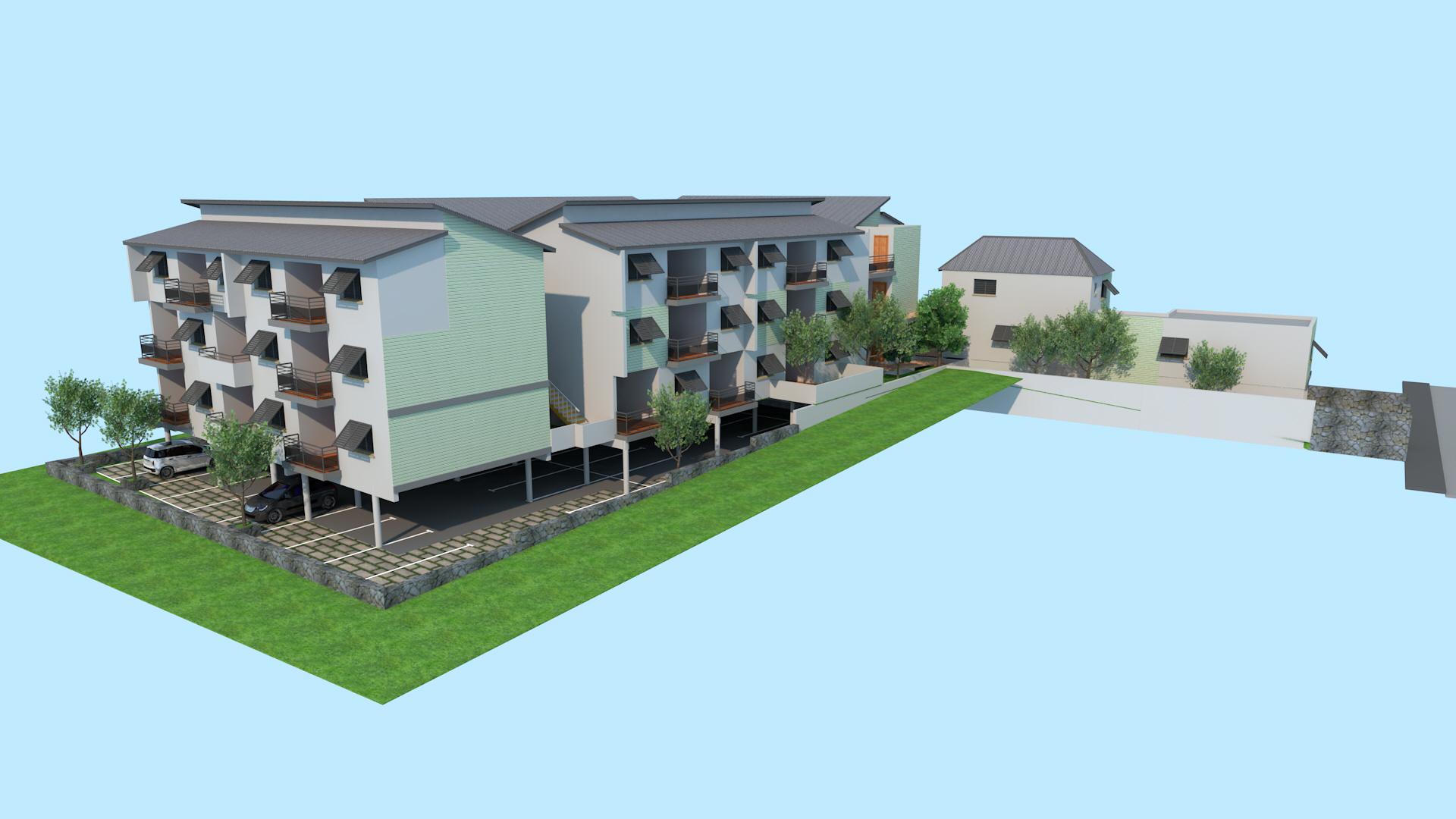 Appartements NEUF à SAINT PIERRE, sud de la Réunion