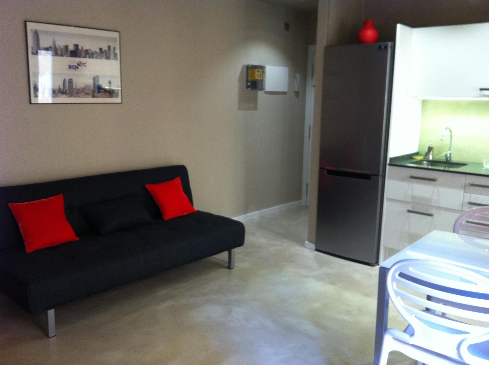 Barcelone à deux pas du Paséo maritimo : A vendre appartement meublé
