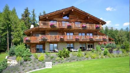 Appartement avec balcon dans un chalet à Crans Montana