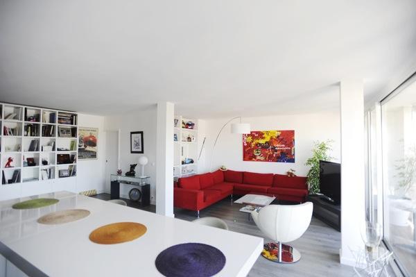 """Appartement de type """"Loft"""" avec vue et balcon à Boulogne Billancourt"""