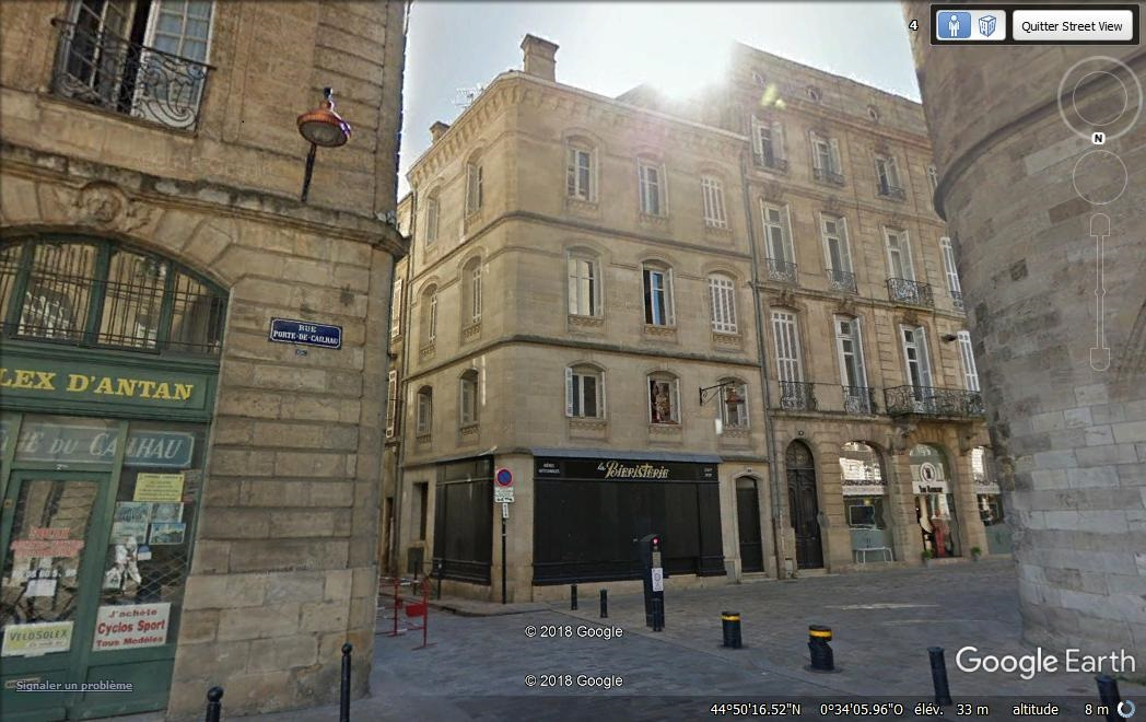 Immeuble de pierres Bordeaux centre