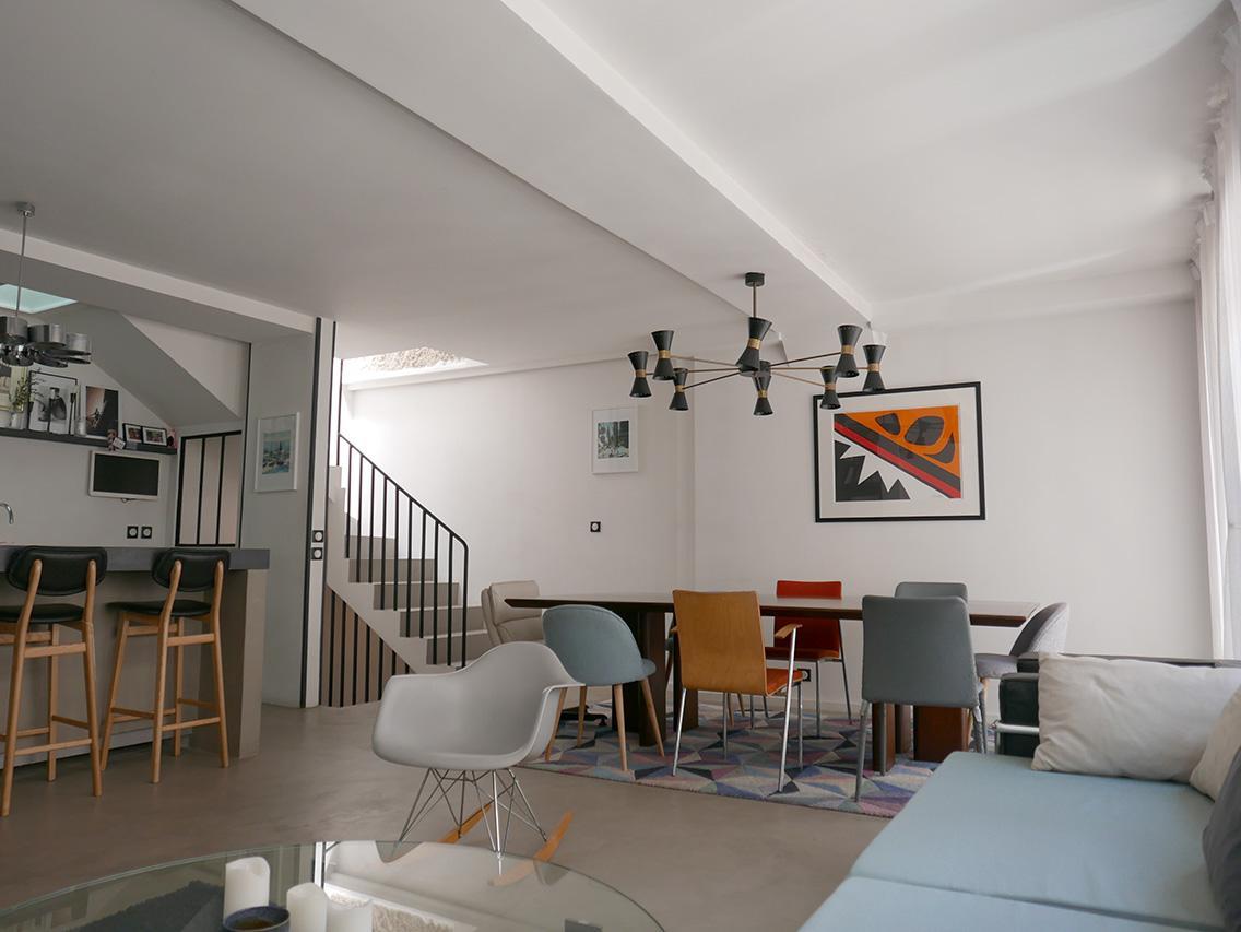 Exceptionnel Vente d'une maison particulière totalement rénovée au coeur de PARIS