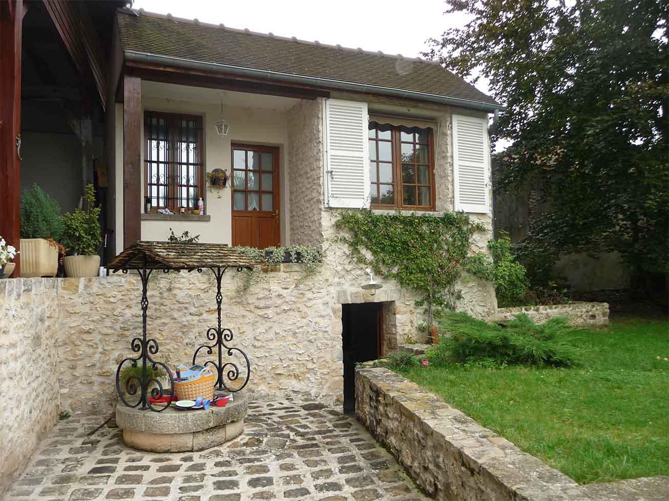 Maison de ville ancienne