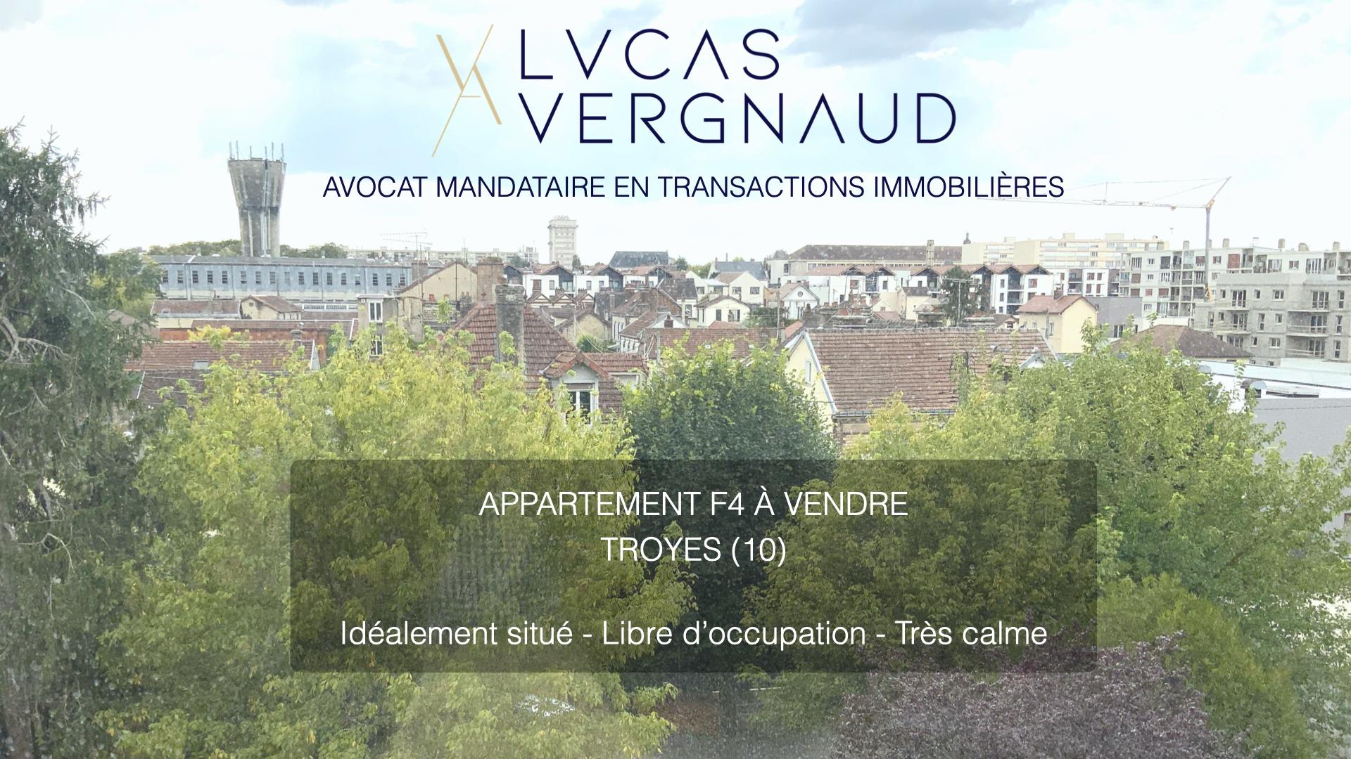 APPARTEMENT F4 TROYES - LUMINEUX