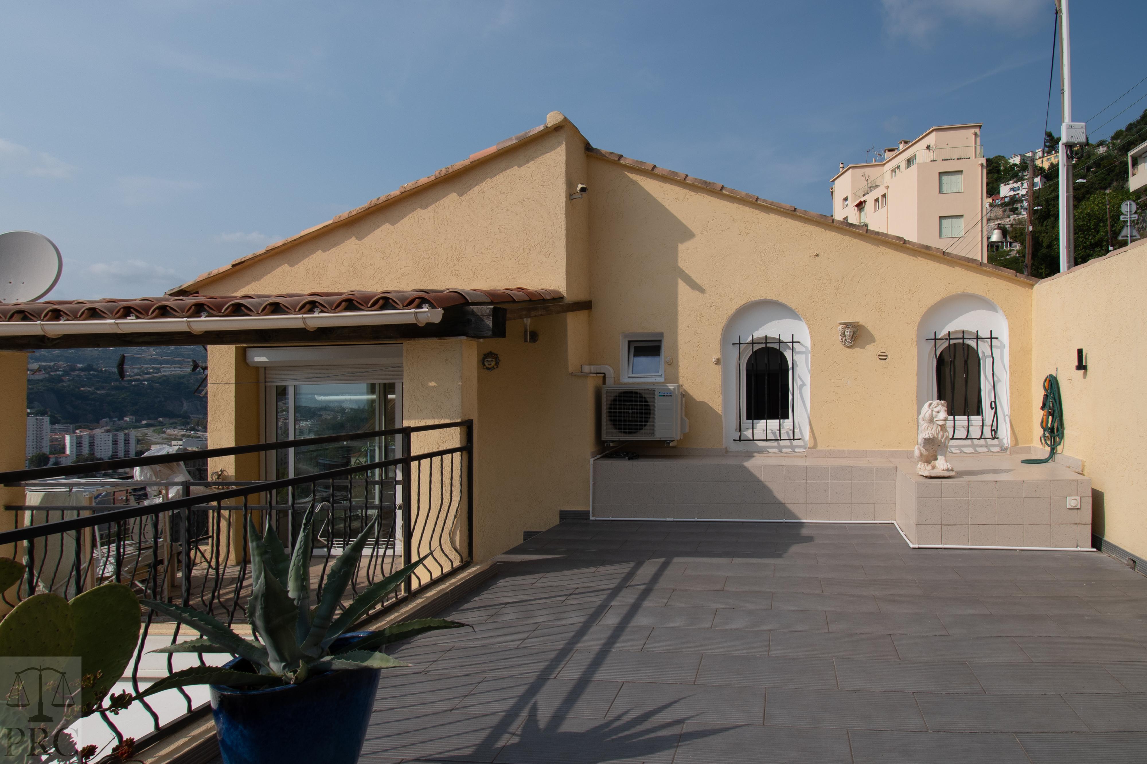 Belle maison vue panoramique Grande Corniche Nice