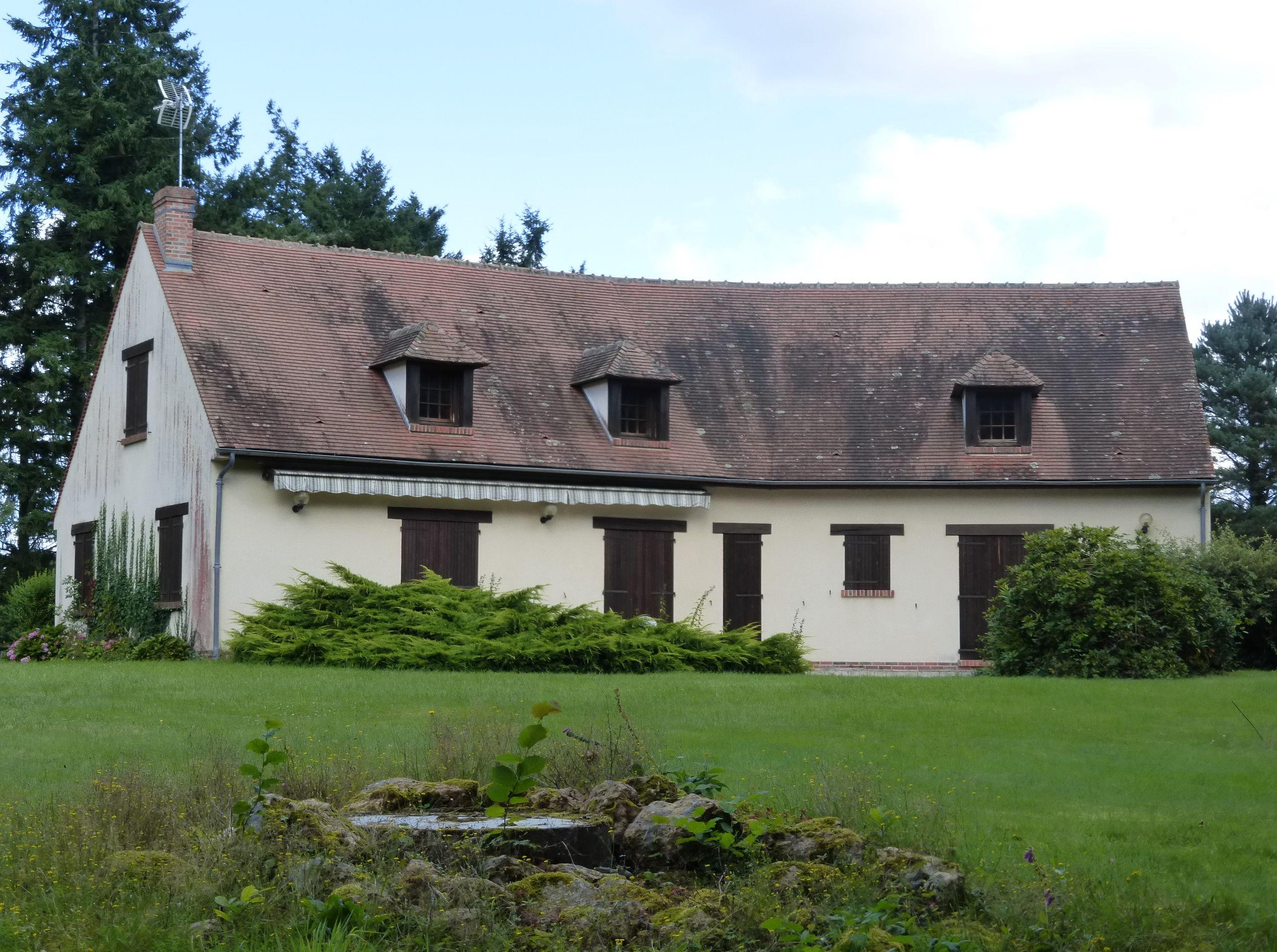 En Sologne - Maison de 225 m² sur propriété de 17 hectares
