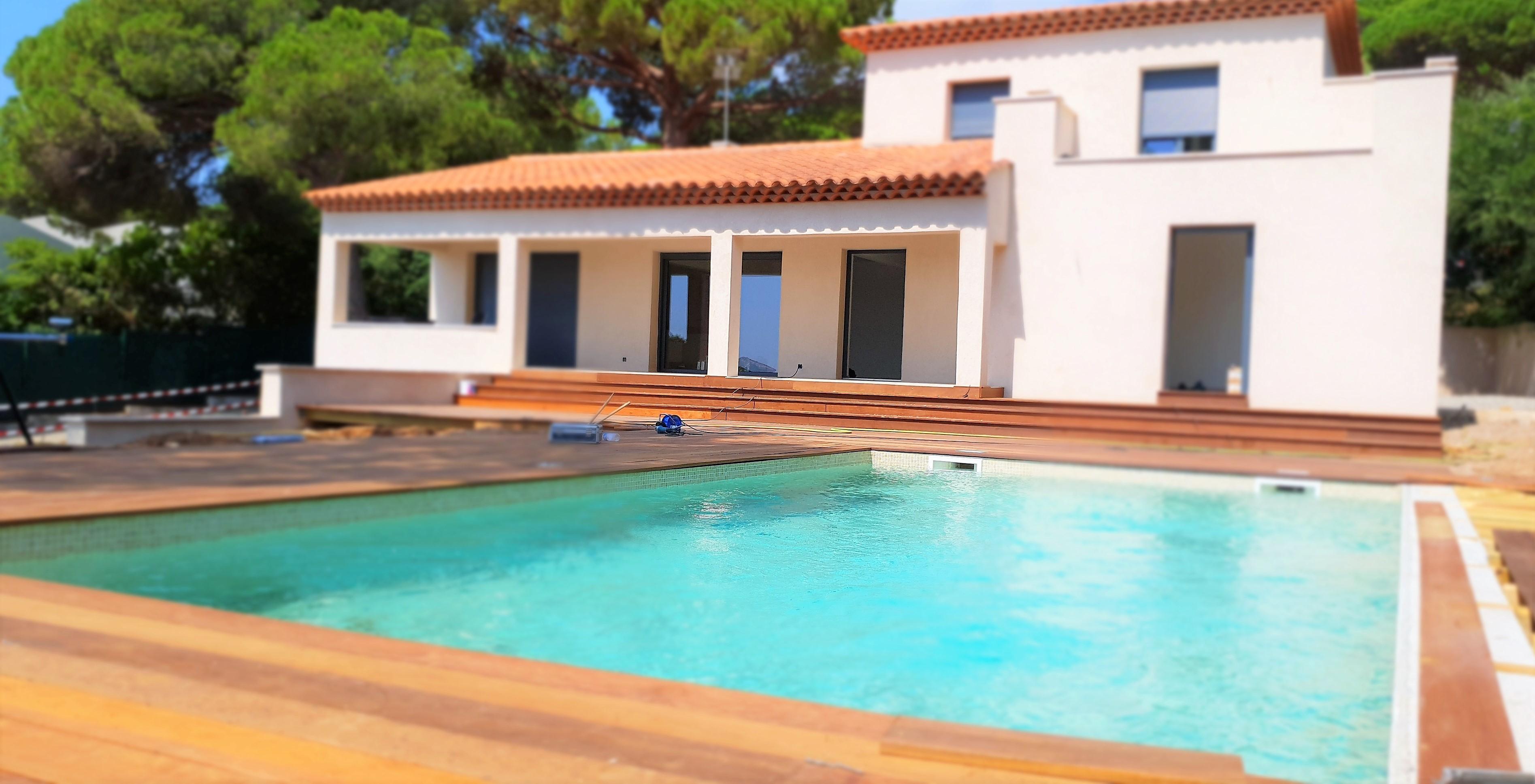 Villa récente de 160 m² Sainte Maxime – La Nartelle – 100 m de la plage