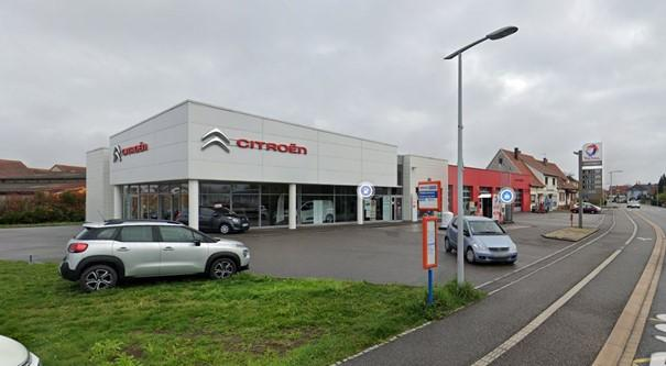 ENSEMBLE IMMOBILIER A DESTINATION DE GARAGE + GARAGE - ROESCHWOOG