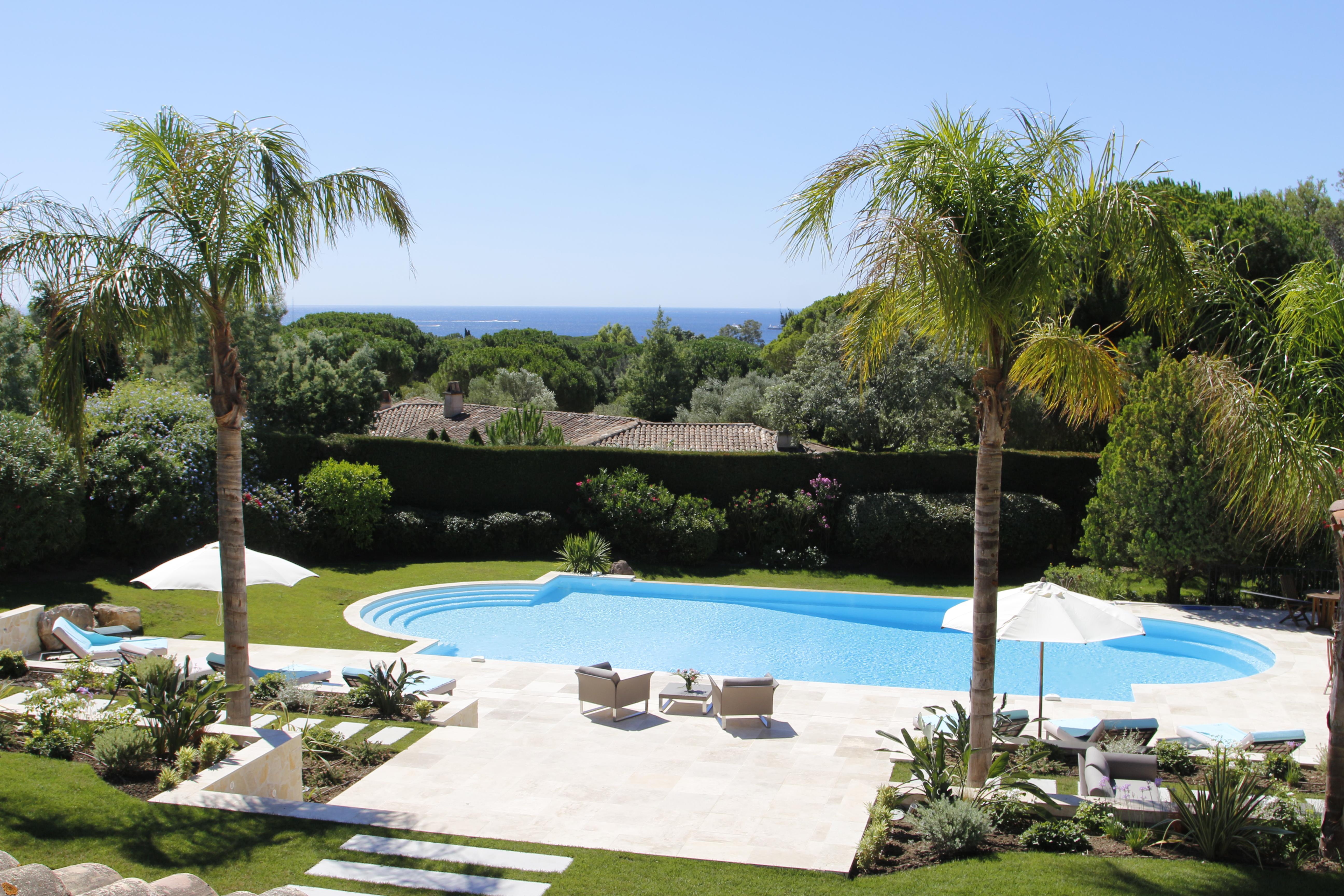 Saint-Tropez-Ramatuelle - villa d'exception - 26 000 m2