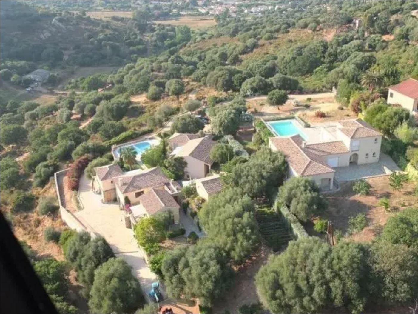 Demeure composée de deux villas en Corse du Nord - Balagne - Santa Reparate