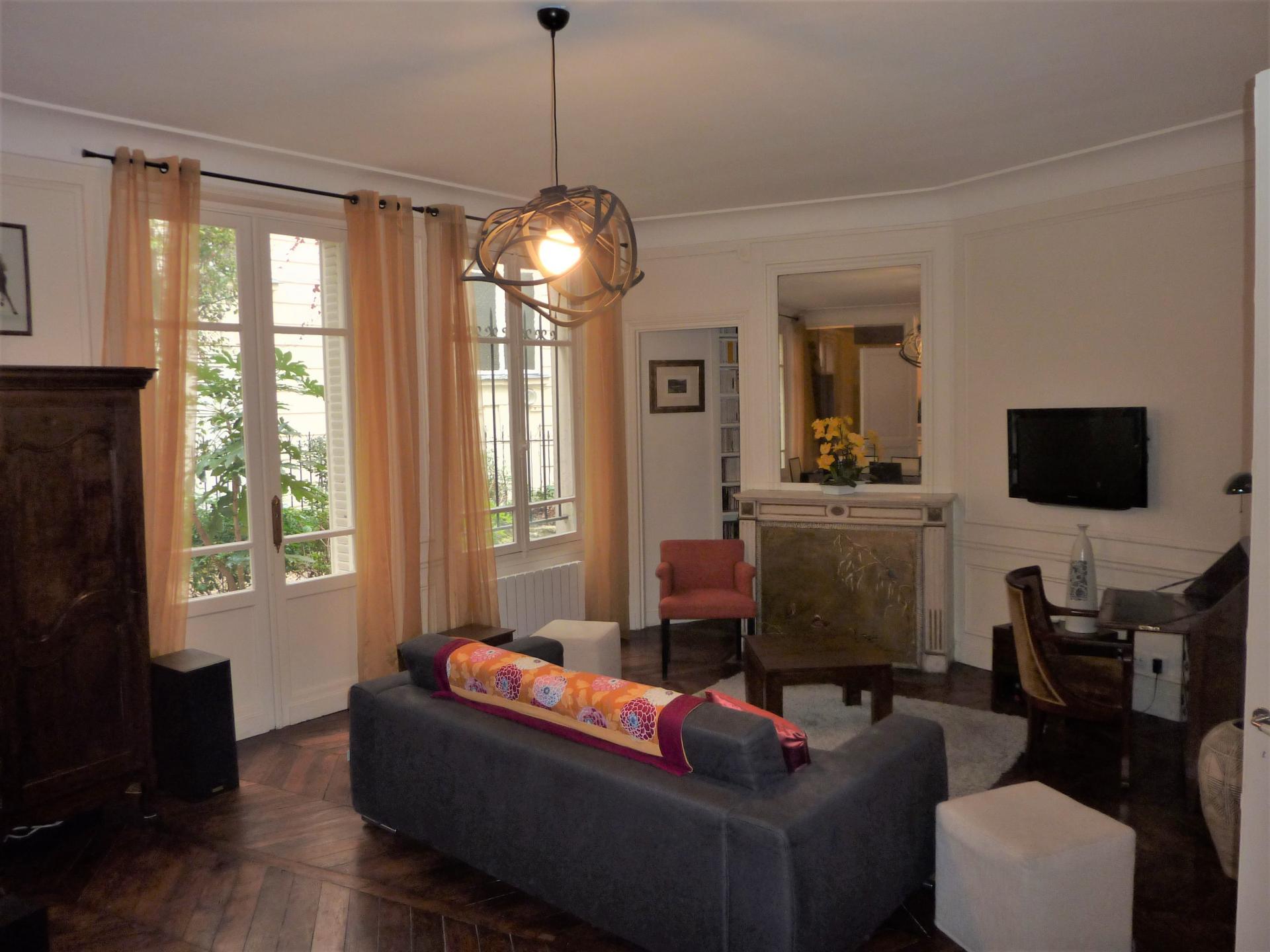 Splendide appartement sur jardin - Passy - Docteur Blanche