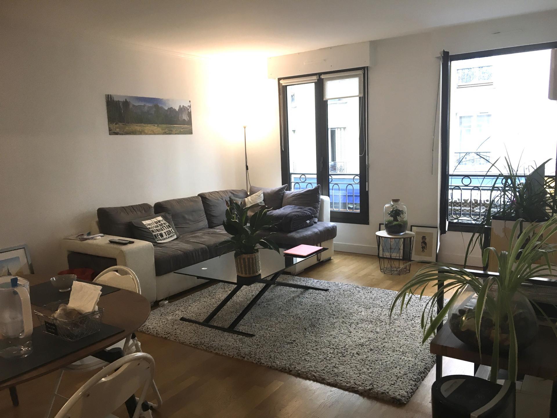 Bel appartement Square des Batignolles - 70m² avec parking