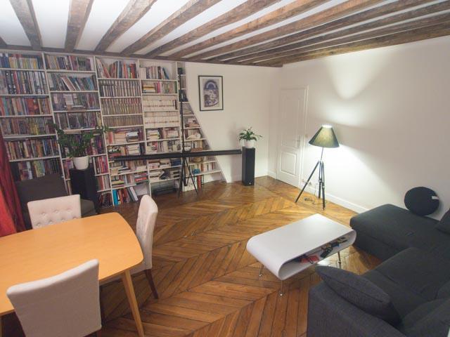 Très bel appartement 2/3 pièces Paris 9ème - Richelieu Drouot