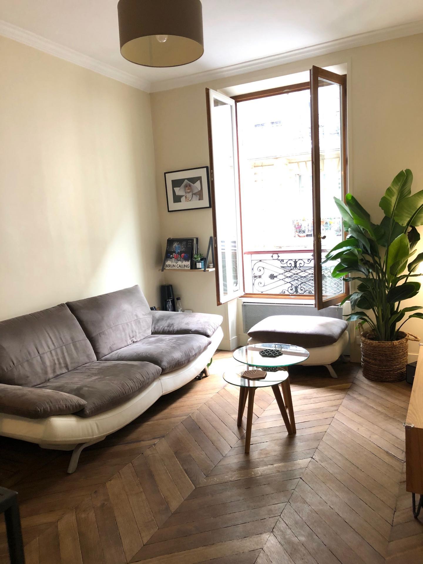 Au coeur des Batignolles - Appartement 3 pièces 47m²