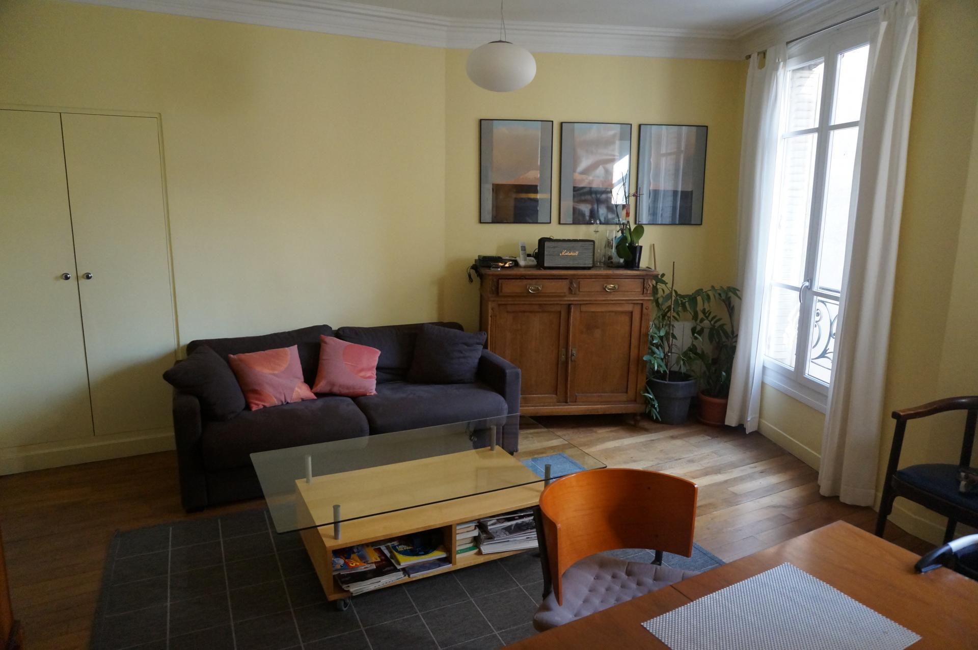 VENTE - Appartement (T2) d'une surface carrez de 44,54 m2 - Rue Navier Paris 17ème