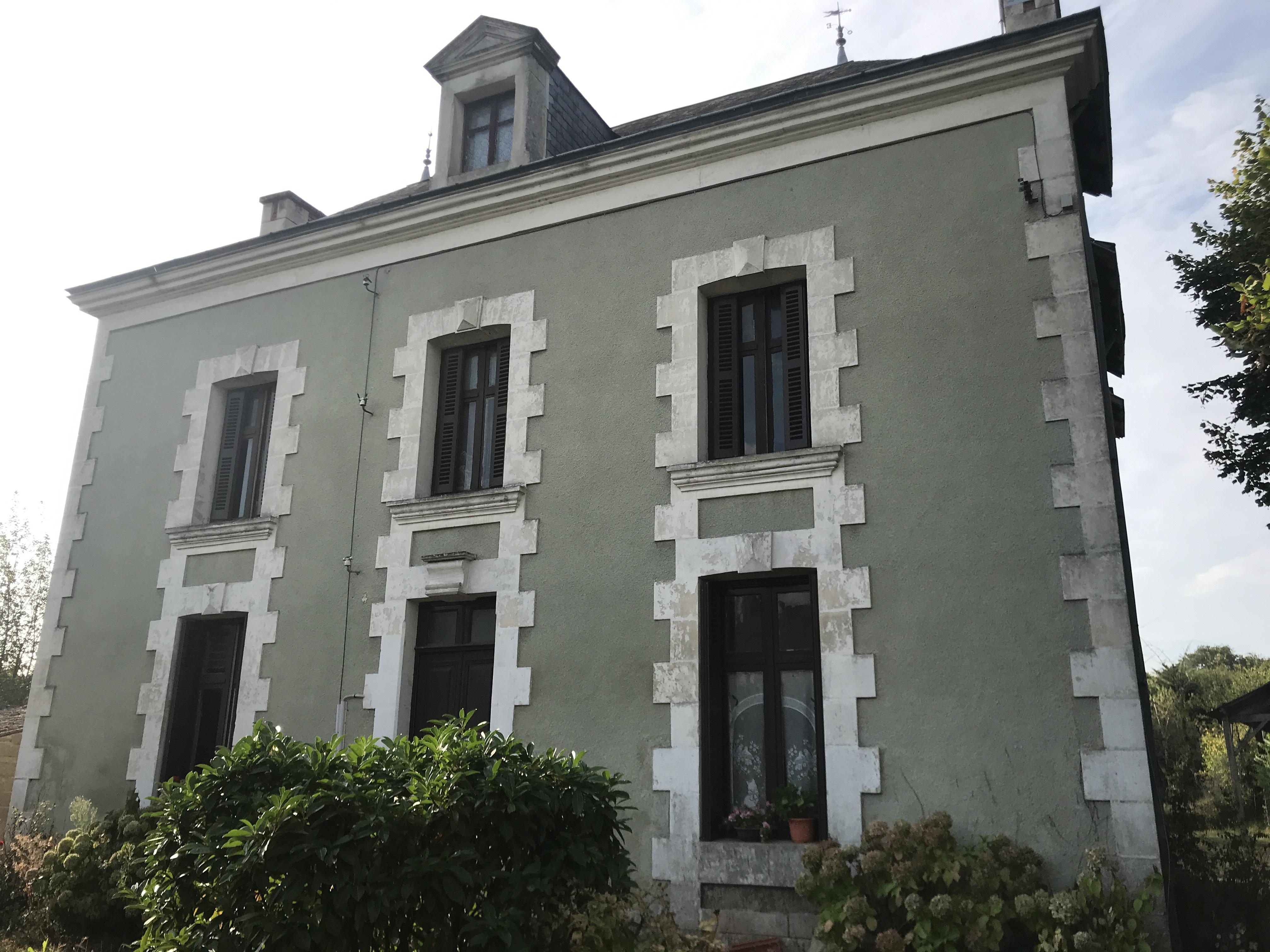 Maison de caractère 20mn Poitiers-Est