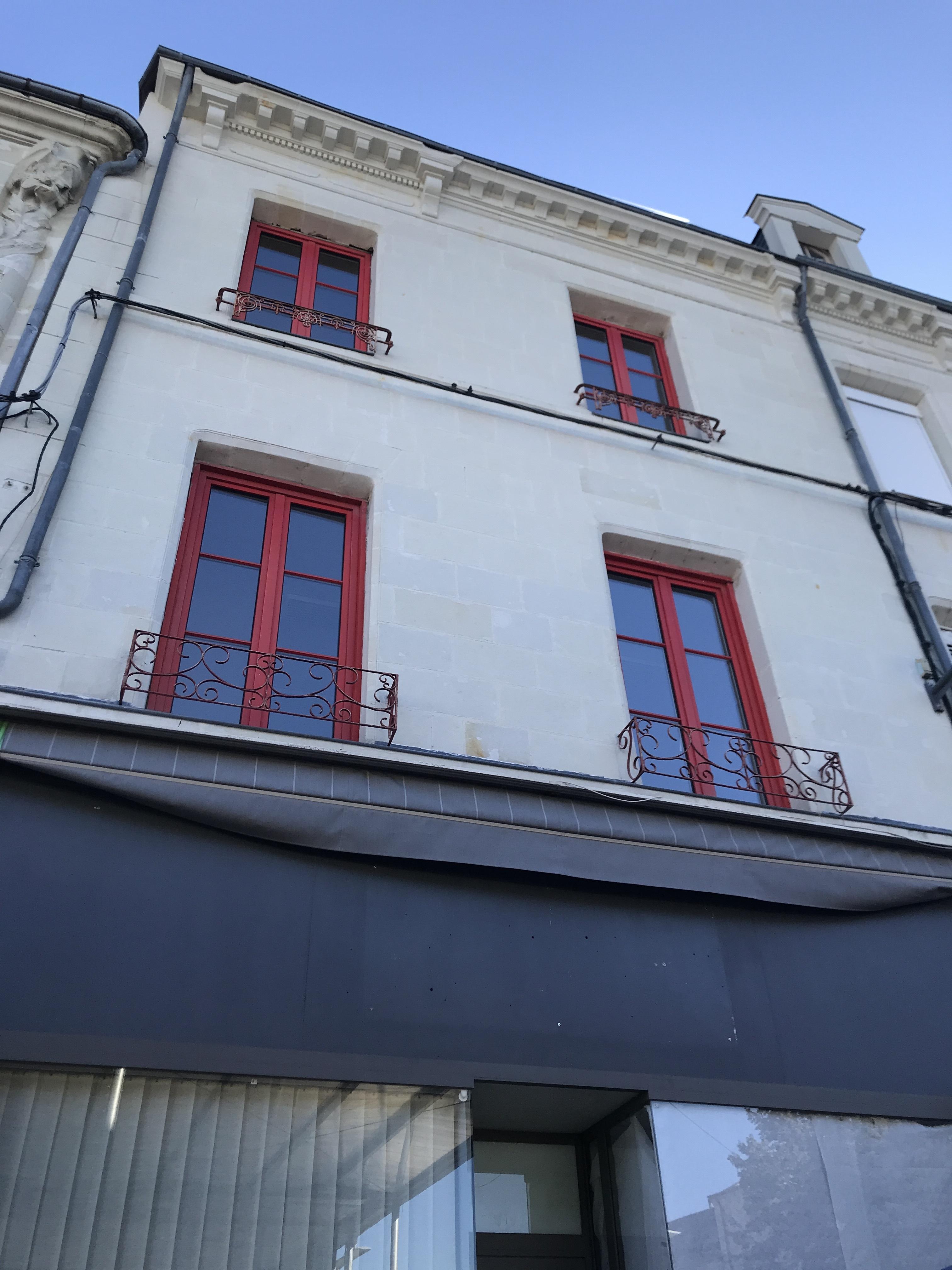 Centre de Châtellerault, immeuble de rapport